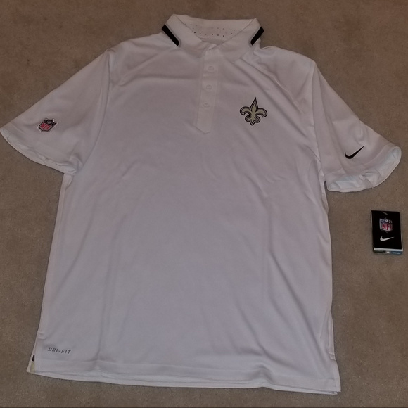 fashion styles autumn shoes the cheapest New Orleans Saints Polo Shirt NWT